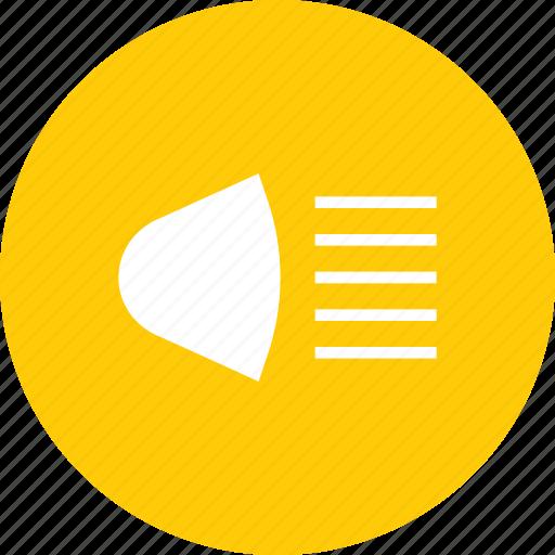 Beam, bulb, headlight, lamp, light, spotlight icon - Download on Iconfinder