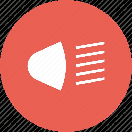 Beam, bulb, headlight, high, lamp, light, spotlight icon - Download on Iconfinder