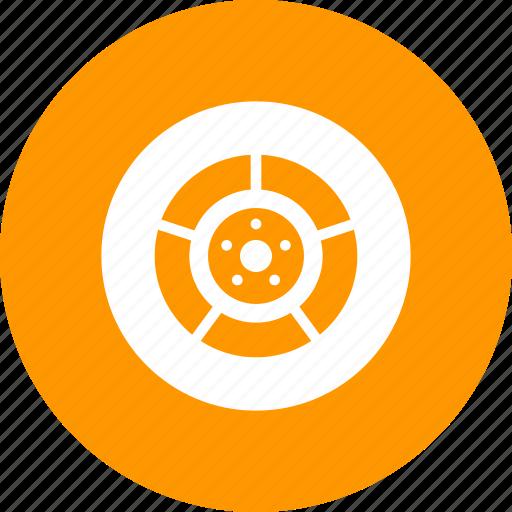 brake, drum, front, motorcycle, rear, wheel icon