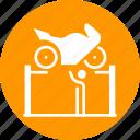 repair, fix, bike, garage, workshop, mechanic, motorcyle