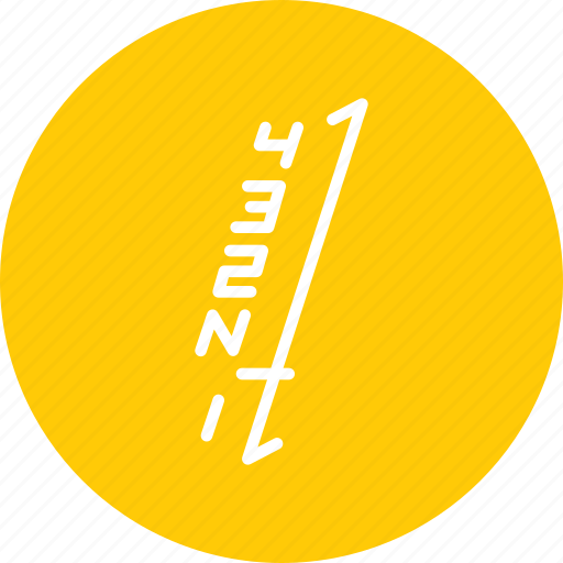 gear, linear, motorcycle, pattern, shift icon