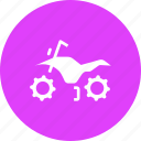 adventure, bike, clearance, dimension, ground, motorcycle icon