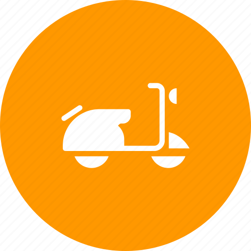 motorbike, motorcycle, scooter icon