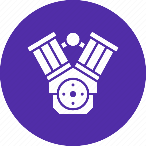 configuration, cylinder, engine, motorcycle, twin, v icon