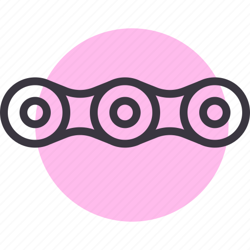 chain, connection, link, motor, motorbike, motorcycle icon