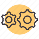 auto, cog, configuration, gear, mechanical, options, settings icon