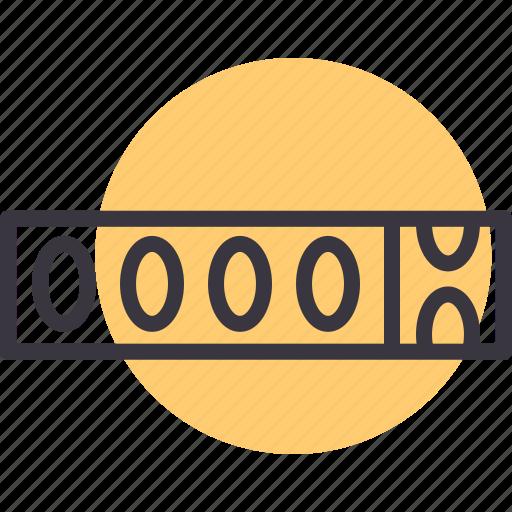 car, distance, meter, motorcycle, odometer, tripmeter icon