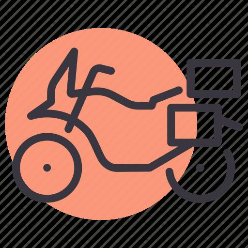 adventure, bike, motorbike, motorcycle, tourer, touring icon
