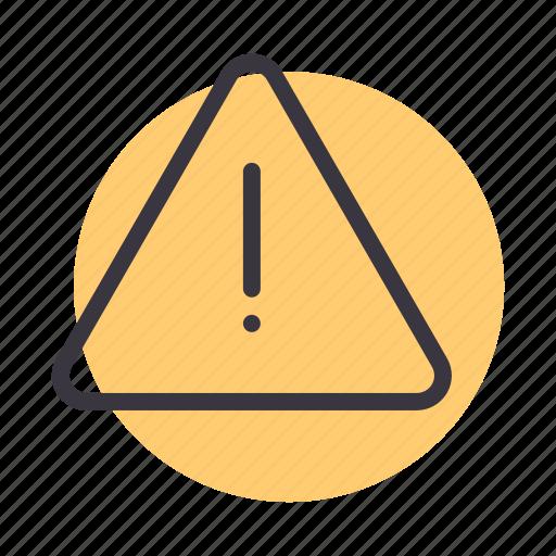 alert, caution, danger, hazard, sign, warning icon