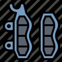 brake, motorcycle, parts, service icon