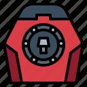 engine, fuel, motorcycle, parts icon
