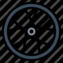 motorcycle, rim, tire, transport, wheel icon