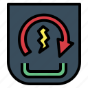 engine, motorcycle, parts, start icon