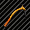 climbing, construction, equipment, ice ax, pickaxe, rock, tool icon