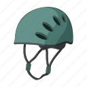 climbing, defense, equipment, headgear, helmet, protection, security icon