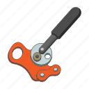 climbing, construction, equipment, rope, tension, tool, winch icon