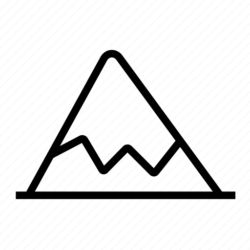 Mountains icon - Download on Iconfinder on Iconfinder