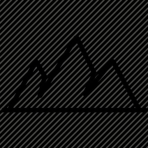 mountain, mountains, nature icon