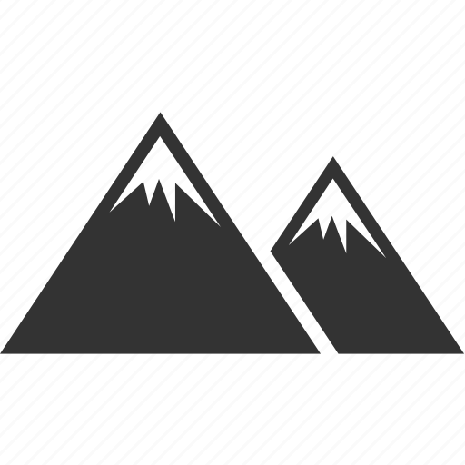 landscape, mountain, nature, rock icon