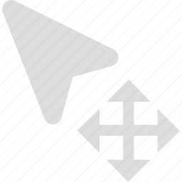 control, cursor, mouse, move, pointer icon