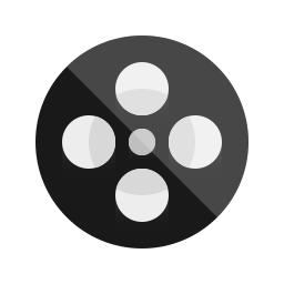camera, circle, film, movie, multimedia icon