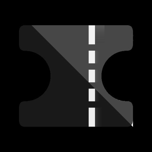 cinema, film, movie, tag, ticket icon