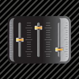control, equlizer, mixer, settings, sound icon