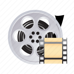 film, media, movie, multimedia, tape icon