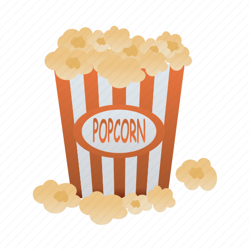 food, meal, popcorn, snack icon