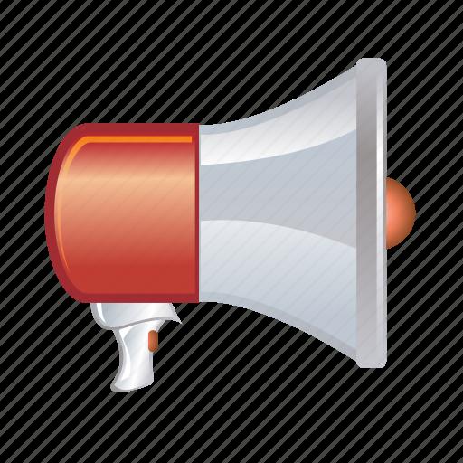 loud, megaphone, mute, speaker, volume icon
