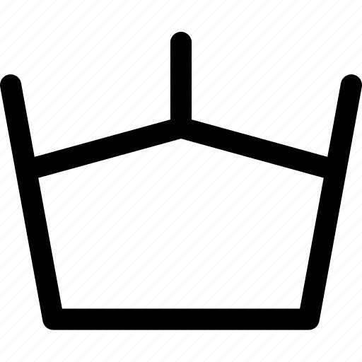 crown, king, monarch, power icon