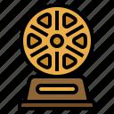 award, film, movie, trophy