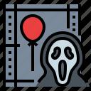 halloween, horror, killer, movie, scream icon