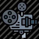 camera, director, movie, production, projector icon