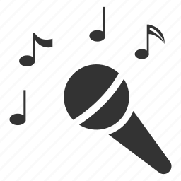 karaoke, microphone, music, sing, song, speaker, voice icon