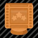 award, cinema, festival, film, filmstrip, prize icon