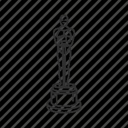 academy, academy awards, acting award, award, movie award, oscar, oscar award icon