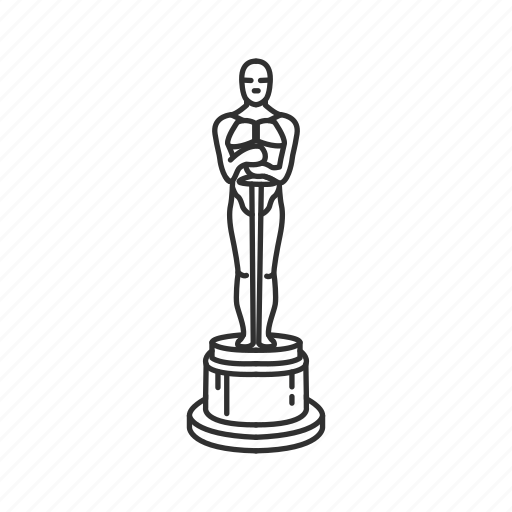 Oscar Award Drawing Oscar Award Drawing - Free Printable ...