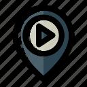cinema, cinema location, film, location, movie, theater icon