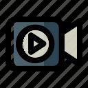 camera, cinema, film, media, movie, video, video camera