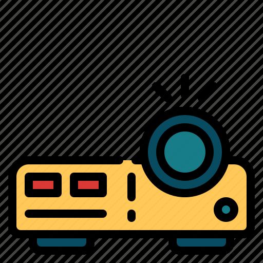 cinema, entertainment, movie, multimedia, projector icon