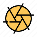 cinema, entertainment, movie, shutter icon