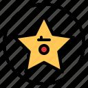 award, cinema, entertainment, movie, star icon