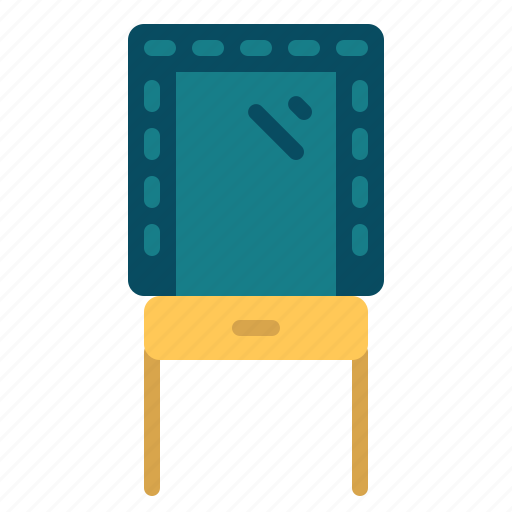 Cinema, dressingroom, entertainment, movie icon - Download on Iconfinder