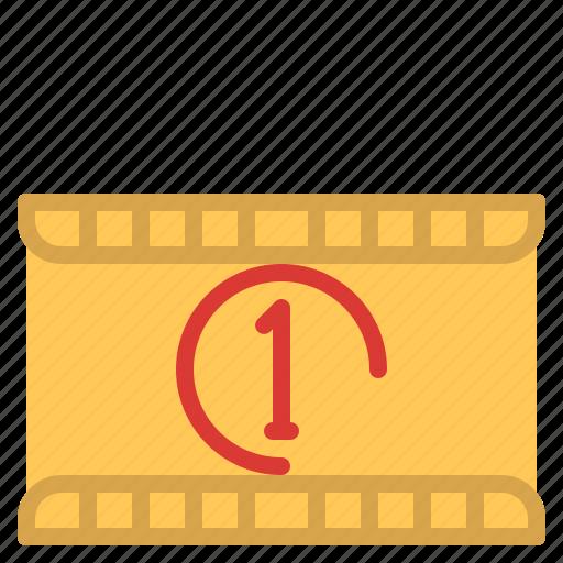 cinema, entertainment, filmcounter, movie icon