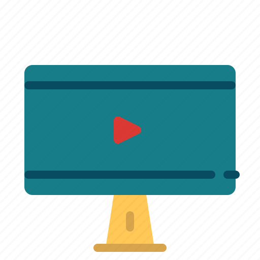 Cinema, display, entertainment, monitor, movie icon - Download on Iconfinder