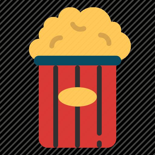 Cinema, entertainment, movie, popcorn, snack icon - Download on Iconfinder