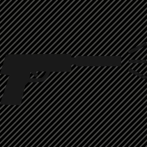 gun, shoot, shooting, weapon icon