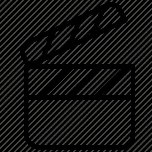 cinema, clip, direction, movie, plan, record icon