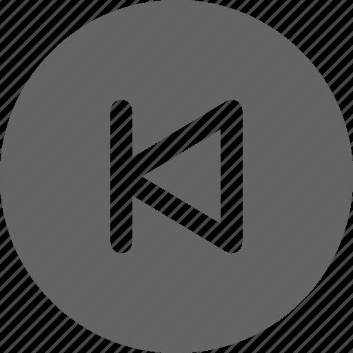 backward, movie, previous icon